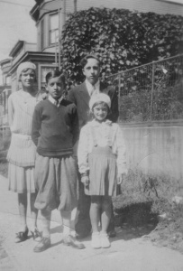 Helen, Robert, Joseph, Jr. and Margaret Schwabik