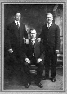 Johnson Brothers, Johan, Hjlmar (a ship captain) and Victor